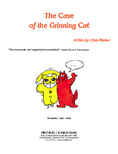 The Case of the Grinning Cat press kit image