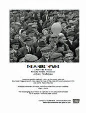 The Miners' Hymns press kit image