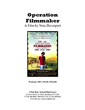 Operation Filmmaker press kit image