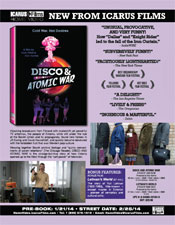 Disco and Atomic War Sell Sheet