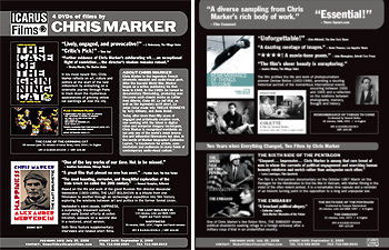 Chris Marker Sell Sheet