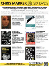 Chris Marker 6 DVDs Sell Sheet