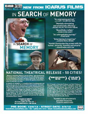 In Search of Memory Sell Sheet